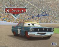 """Mario Andretti Signed """"Cars"""" 8x10 Photo (Beckett COA)"""
