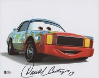 "Darrell Waltrip Signed ""Cars"" 8x10 Photo (Beckett COA)"