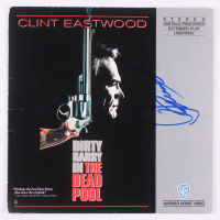 "Clint Eastwood Signed ""Dirty Harry in the Dead Pool"" LaserDisc Cover (PSA LOA)"