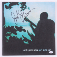 """Jack Johnson Signed """"On and On"""" Vinyl Record Album Cover (PSA COA) at PristineAuction.com"""