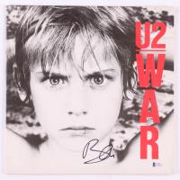 "Bono Signed U2 ""War"" Vinyl Record Album Cover (Beckett COA) at PristineAuction.com"