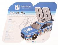 Dale Earnhardt Jr Signed NASCAR 9x10 Display Sign (JSA COA)