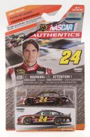 "Jeff Gordon Signed 2014 NASCAR Authentics ""Great Racers"" 1:64 Die Cast Car with Original Packaging (JSA COA)"