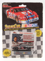 Dale Earnhardt Signed 1992 Racing Champions Stock 1:64 Die Cast Car with Original Packaging (JSA COA)