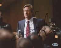"Aaron Eckhart Signed ""The Dark Knight"" 8x10 Photo (Beckett COA)"