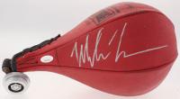 Mike Tyson Signed Vintage Leather Everlast Speed Bag (JSA COA)