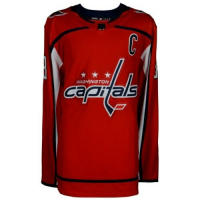 Alexander Ovechkin Signed Capitals Captain Jersey (Fanatics Hologram) at PristineAuction.com
