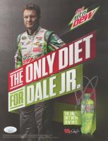Dale Earnhardt Jr. Signed NASCAR 8.5x11 Print (JSA COA)