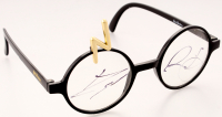 "Daniel Radcliffe Signed ""Harry Potter"" Replica Prop Glasses with Display Case (PSA LOA) at PristineAuction.com"