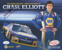Chase Elliott Signed NASCAR 8x10 Print (JSA COA)