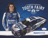 Danica Patrick Signed NASCAR 8x10 Print (JSA COA)