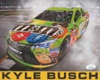 Kyle Busch Signed NASCAR 8x10 Print (JSA COA)
