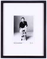 "Paul McCartney Signed 15x19 Custom Framed Photo Display Inscribed ""Cheers"" (JSA LOA)"