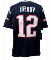 Tom Brady Signed New England Patriots Jersey (TriStar Hologram)