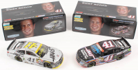 Lot of (2) Kurt Busch Signed LE 1:24 Scale Die Cast Cars with (1) #41 Haas Automation American Salute 2014 SS & (1) #41 Haas Automation 500th Start 2014 SS (JSA COA)