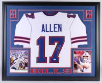 Josh Allen Signed 35x43 Custom Framed Jersey (JSA Hologram) at PristineAuction.com