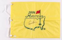 Arnold Palmer Signed 2006 Masters Tournament Golf Pin Flag (JSA LOA)