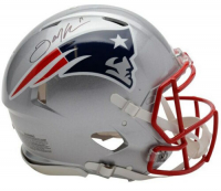 Julian Edelman Signed New England Patriots Full-Size Authentic On-Field Speed Helmet (Fanatics Hologram) at PristineAuction.com