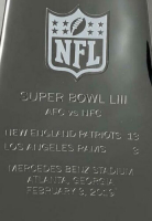 """Tom Brady Signed Replica Full Size Super Bowl LIII Lombardi Trophy Inscribed """"Let's Go"""" (TriStar Hologram) at PristineAuction.com"""