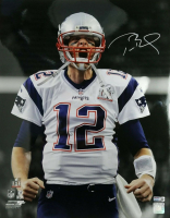 Tom Brady Signed Patriots 16x20 Metallic Photo (TriStar Hologram) at PristineAuction.com