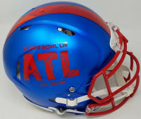 Tom Brady Signed Super Bowl LIII Full-Size Authentic On-Field Speed Helmet (TriStar Hologram) at PristineAuction.com