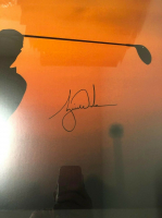 "Tiger Woods Signed ""Sunrise"" 20x24 Custom Framed Photo (UDA COA) at PristineAuction.com"
