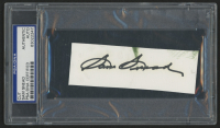 Sam Snead Signed 1.5x4.5 Cut (PSA Encapsulated)