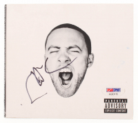 "Mac Miller Signed ""GO:OD AM"" CD Album Case (PSA COA) at PristineAuction.com"