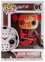 "Ari Lehman Signed Jason Voorhees #01 Funko Pop! Vinyl Figure Inscribed ""Friday The 13th"" & ""Jason 1"" (PA COA) at PristineAuction.com"