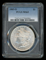 1885-O Morgan Silver Dollar (PCGS MS63)
