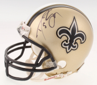 Drew Brees Signed New Orleans Saints Mini-Helmet (JSA COA)