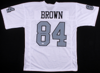 Antonio Brown Signed Oakland Raiders Jersey (JSA COA)