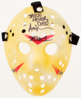 "Ari Lehman Signed ""Friday the 13th"" Jason Voorhees Mask Inscribed ""Jason Never Dies!"" & ""Jason 1"" (PA COA) at PristineAuction.com"