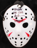 """Ari Lehman Signed """"Friday the 13th"""" Jason Voorhees Mask Inscribed """"Friday the 13th"""" & """"Jason 1"""" (PA COA)"""