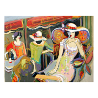 "Isaac Maimon Signed ""Carrying Your Heart with Me"" 30x24 Original Acrylic Painting at PristineAuction.com"