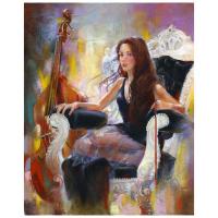 "Lena Sotskova Signed ""Episode"" 20x16 Original Oil Painting on Canvas at PristineAuction.com"