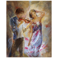 "Lena Sotskova Signed ""Summer Breeze"" 20x16 Original Oil Painting on Canvas at PristineAuction.com"