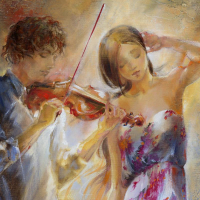 """Lena Sotskova Signed """"Summer Breeze"""" 20x16 Original Oil Painting on Canvas at PristineAuction.com"""