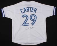 Joe Carter Signed Toronto Blue Jays Jersey (JSA COA)
