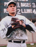 """Charlie Sheen Signed LE """"Eight Men Out"""" 11x14 Photo Inscribed """"My Pleasure"""" (PSA COA) at PristineAuction.com"""