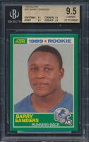 1989 Score #257 Barry Sanders RC (BGS 9.5)