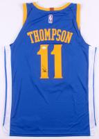 Klay Thompson Signed Golden State Warriors Jersey (JSA COA)