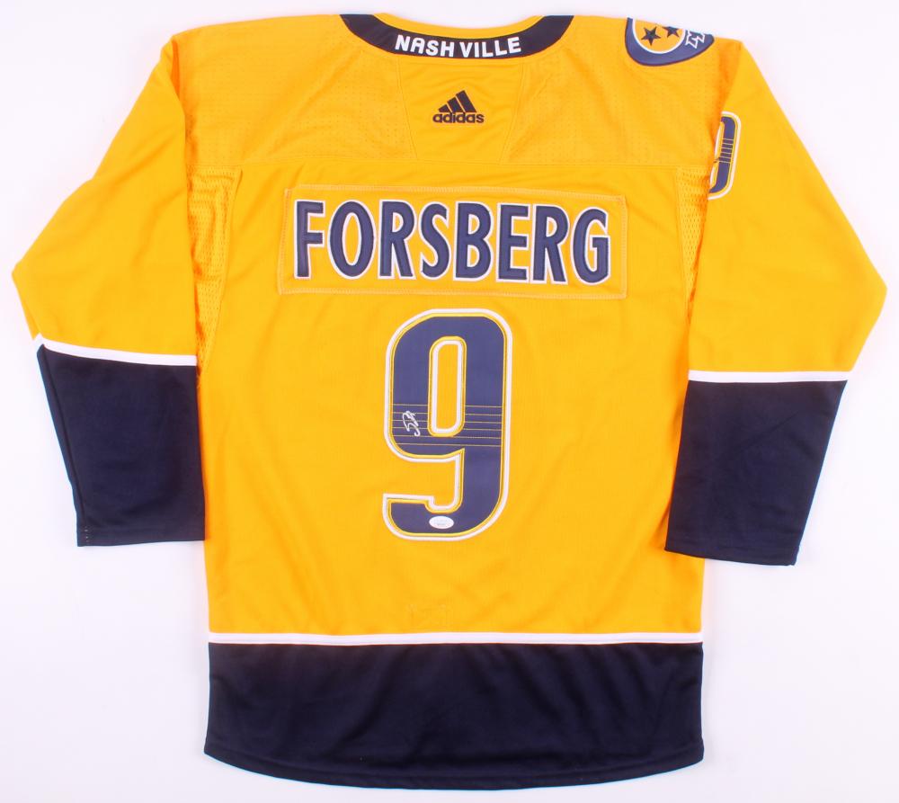 62b1dc8a1a3 Filip Forsberg Signed Nashville Predators Jersey (JSA COA) at  PristineAuction.com