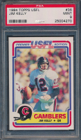 1984 Topps USFL #36 Jim Kelly XRC (PSA 9) at PristineAuction.com