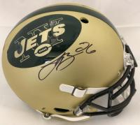 Le'Veon Bell Signed New York Jets Full-Size Authentic On-Field Helmet (JSA COA)