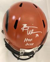 """Brian Urlacher Signed Chicago Bears Full-Size Hydro Dipped Speed Helmet Inscribed """"HOF 2018"""" (JSA COA)"""
