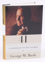 "George W. Bush Signed ""A Portrait of My Father"" Hardcover Book (JSA COA)"
