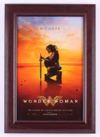 """Wonder Woman"" 14.5x20.5 Custom Framed Movie Poster Display"