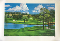 "Byron Nelson Signed LE ""TPC Las Colinas"" 25x35 Lithograph (Beckett COA) at PristineAuction.com"
