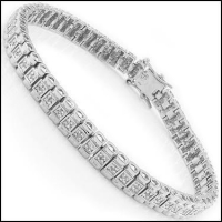 0.83 CT Diamond Designer Bracelet
